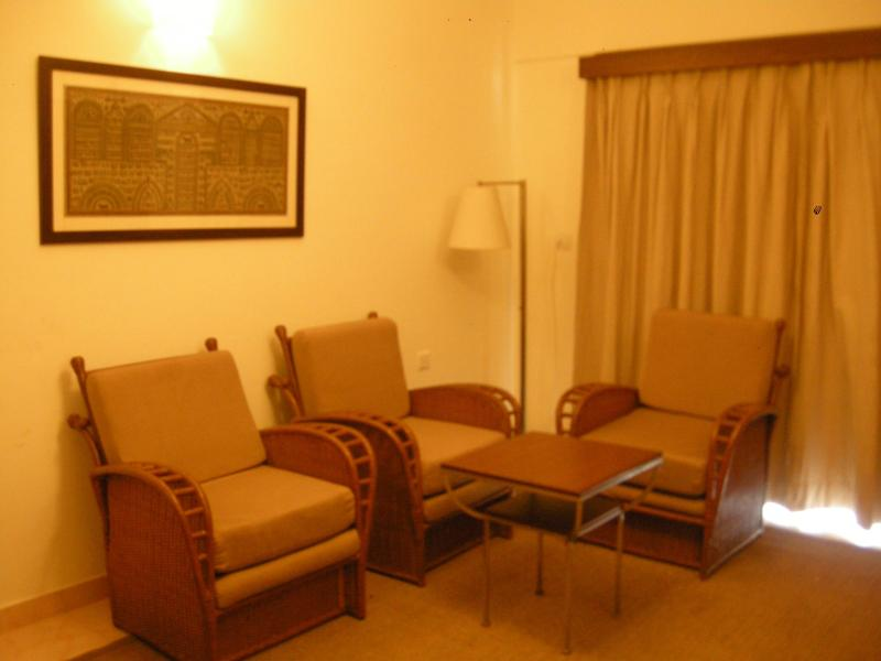 Hall/ lounge - Luxurious Fully Furnished A/C Apartment With Swimming Pool, Gym At Goa's Most sort-out Candolim beach - Candolim - rentals