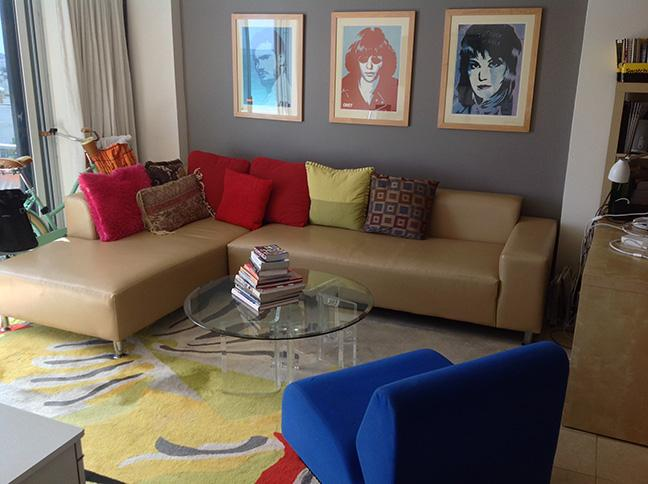 Living Room - Ocean Front Apt in South Beach - Miami Beach - rentals