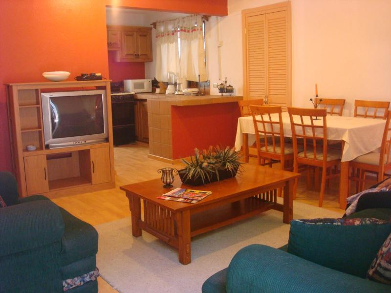 Sala, comedor, T.V. - IV Good Location And Price, Nice, Clean And Comfortable. - La Paz - rentals