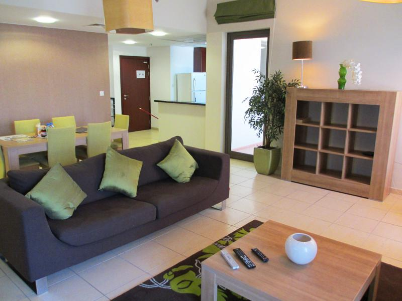 Living Room - Luxury JBR 1200 Sqft Apartment S206 - Dubai - rentals