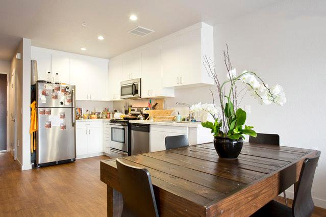 Kitchen and Dining Area - BRAND NEW LUXURY APT IN THE MISSION!!! - San Francisco - rentals