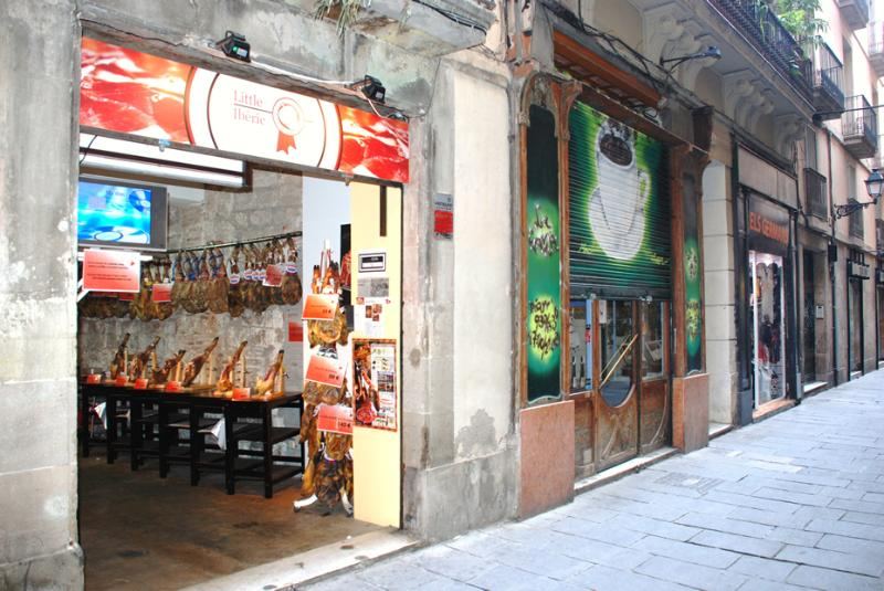 Street view - Old Town Banys Nous - Barcelona - rentals