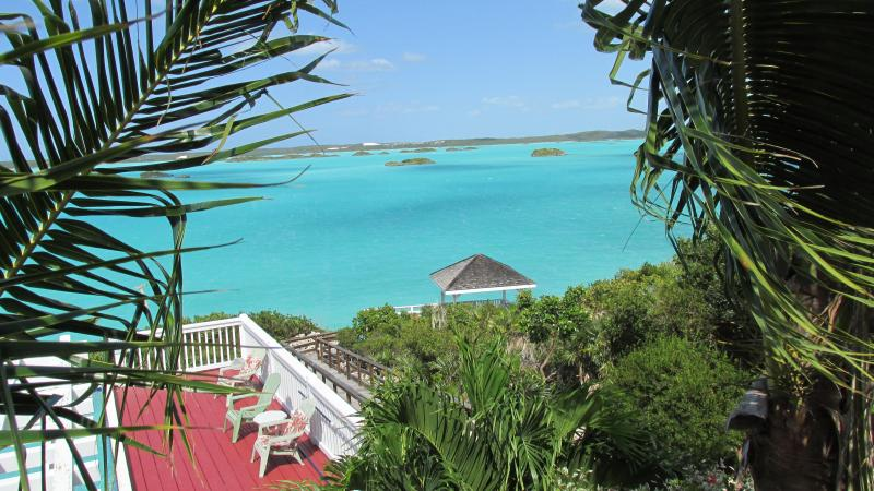 Pool with the perfect view - Aqua View Villa, Stunning Pool, Waterfront-  Book NOW !! - Chalk Sound - rentals