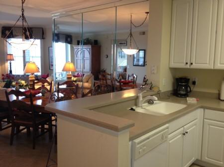 Kitchen and breakfast bar - Ocean Place 49 - Amelia Island - rentals