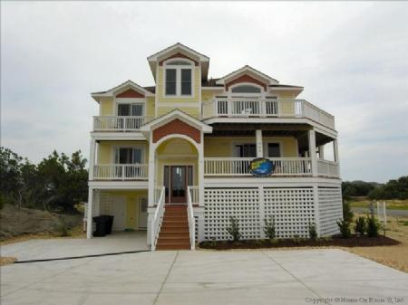 Front view - Orions Belt - Kitty Hawk - rentals