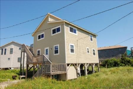 Front elevation - Seahorse - Nags Head - rentals