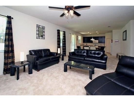 Sitting Area - CC4H1047TD Disney Vacation Kissimmee Rental Villa - Orlando - rentals