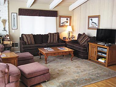Living Room - Chateau Sans Nom - CSN25 - Mammoth Lakes - rentals