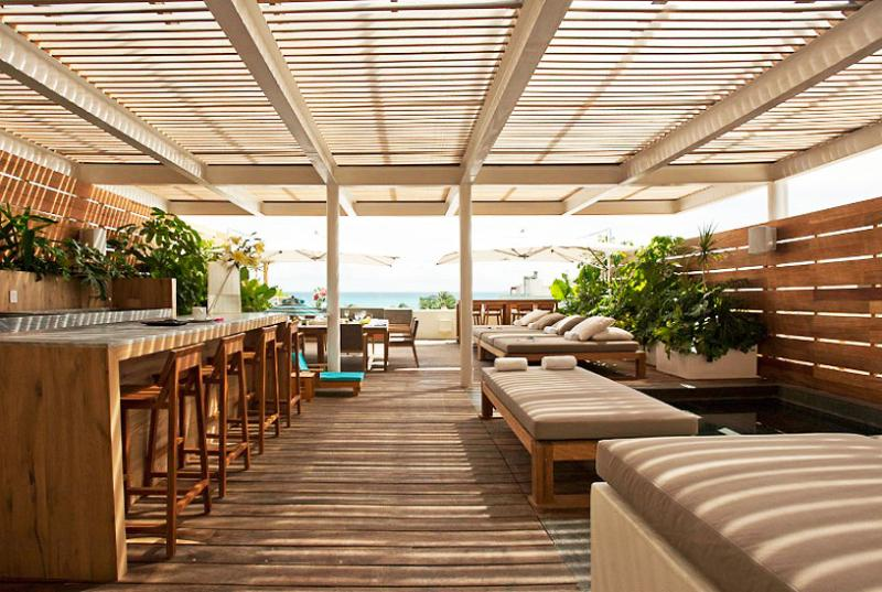 Mayan Riviera Villa 40 On The Rooftop, There Is A Huge Deck With A Panoramic Ocean View. - Image 1 - Riviera Maya - rentals