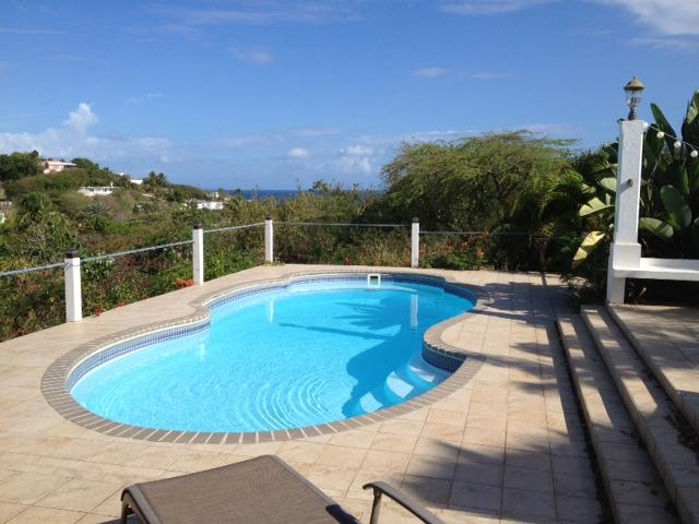 Pool  - Hilltop Retreat 1-BR Apartment - Vieques - rentals