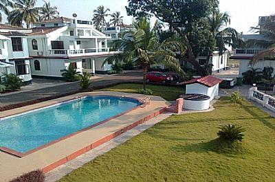 Landscapped lawns - Spacious self-catering 2 bedroom villa in Arpora. - Bardez - rentals