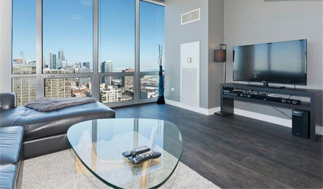 Penthouse LUXURY LOFT 27th FL Amazing A+ City View - Image 1 - Chicago - rentals