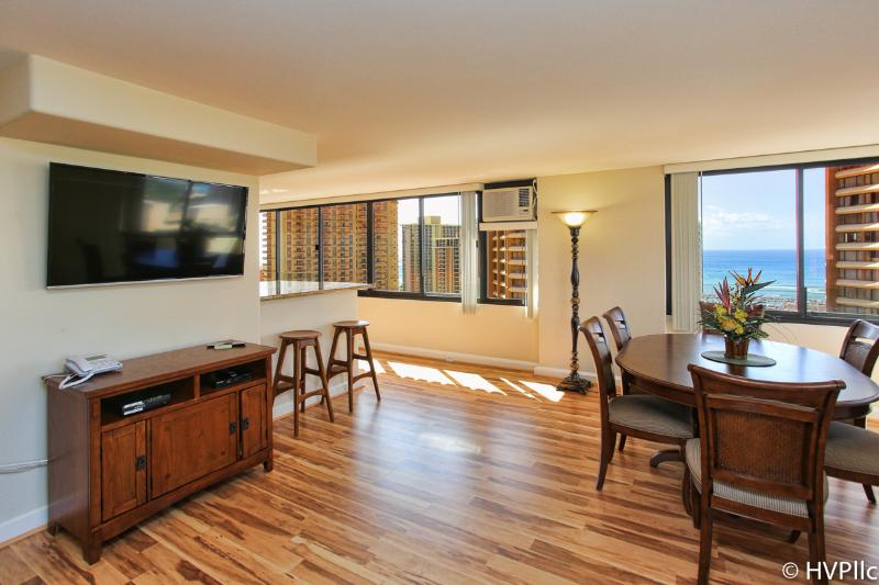 Waikiki 2BR 2.5 baths / Full Ocean Sunset Views - Image 1 - Waikiki - rentals