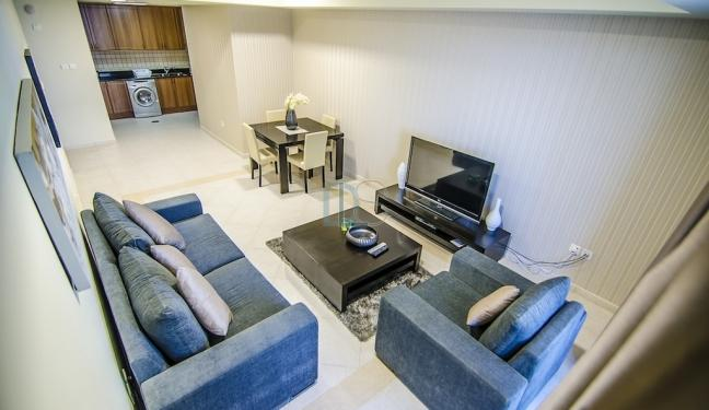 Furnished Apartment with a Marina View for rent in Princess Tower. - Image 1 - Dubai - rentals