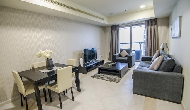 Furnished and Serviced Apartment for rent in Princess Tower. - Image 1 - Dubai - rentals