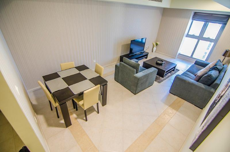 Furnished Apartment with Full Sea View on very high floor for rent in Princess Tower. - Image 1 - Dubai - rentals