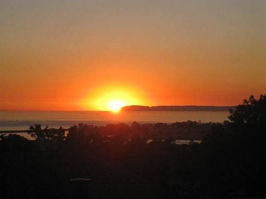 Sunset view from upstairs. Youre going to love it here.  - Last Minute Special! Ocean View Classic California Home! - Dana Point - rentals