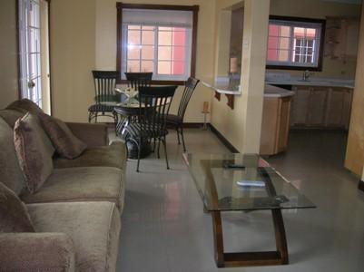 view of living room, dining room and kitchen from entrance - Golden Triangle Vacation Accommodation - Kingston - rentals