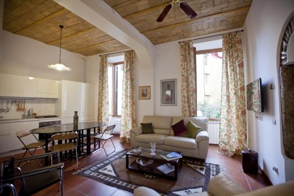 CR655rRome - Beautiful and Elegant Apartment in the heart of Trastevere - Image 1 - Rome - rentals