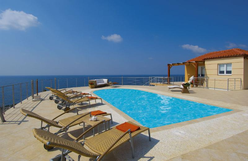 Tersanas Villas with amazing view and private pool - Image 1 - Tersanas - rentals