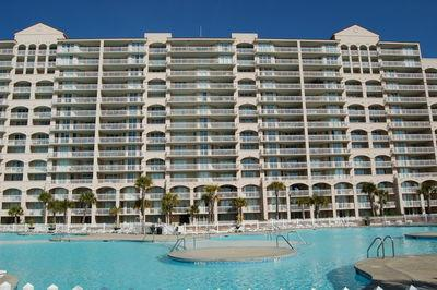 Balcony facing pool and waterway - Breathtaking Condo at North Myrtle Beach on the Intracoastal Waterway! One of the Largest pools at the beach - North Myrtle Beach - rentals