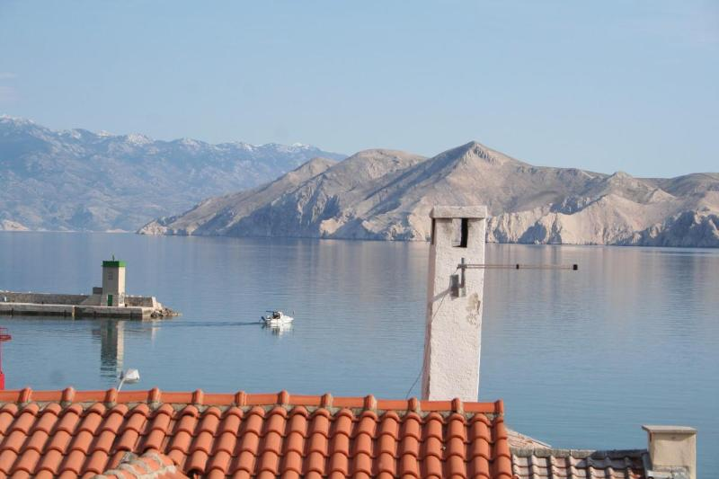 View from the terrace - Authentic stone house in Baska (2+2) - Baska - rentals