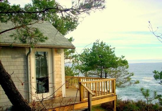 Exterior View of South Cabin - South Cabin - Orrs Island - rentals