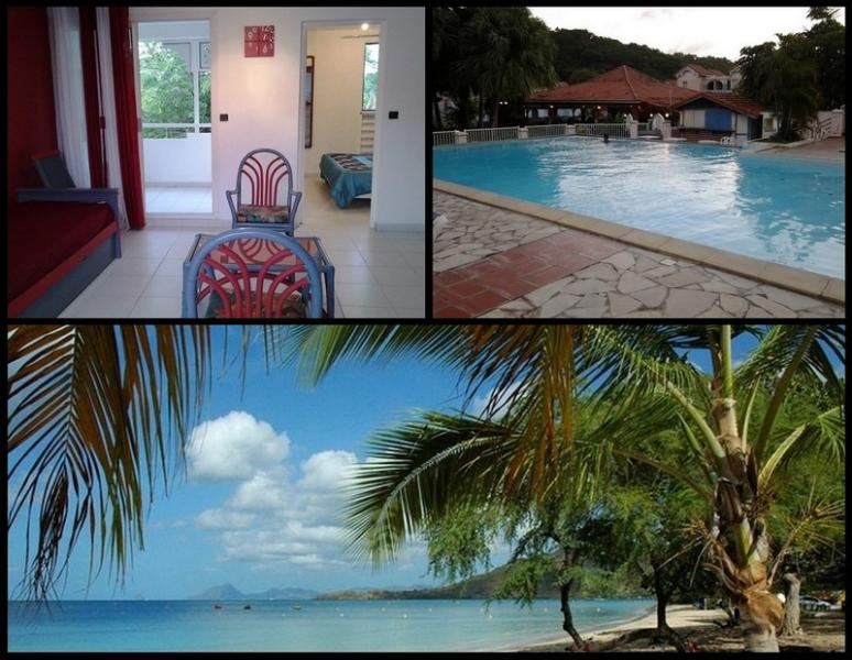 Your Condo in tourist residence with pool on the Roads of beaches at Sainte Anne in Martinique - Image 1 - Sainte-Anne - rentals