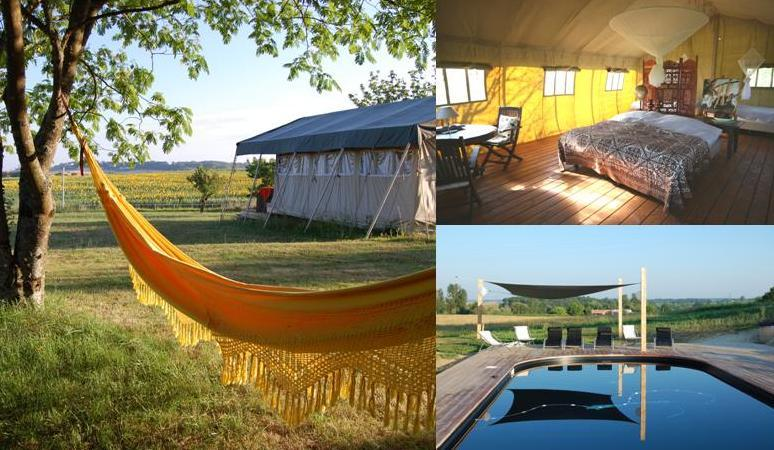 Simply Canvas safari tents - Simply Canvas country side Glamping in SW France - Loubes-Bernac - rentals