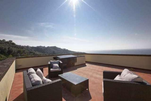 Gorgeous newly restored villa with pool, sea view - Image 1 - Massa Lubrense - rentals