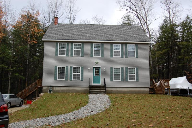 Brigton Home- Extertior - MOOSE POND-Bridgton, Maine - Bridgton - rentals