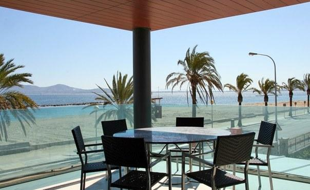 Luxurious apartment on beach front with sea views - stylish and top quality furniture - ES-311030-Puerto Pollença - Image 1 - Port de Pollenca - rentals