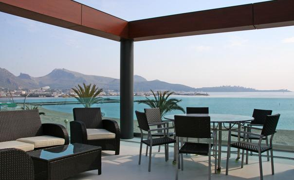 Luxurious apartment located right on the  beach with spectacular views of the bay - ES-324361-Puerto Pollensa - Image 1 - Puerto Pollensa - rentals