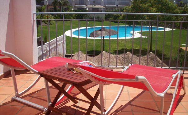 Air Conditioned Townhouse on El Portil Golf Course Minutes From Stunning Beach - ES-290-Cartaya - Image 1 - Cartaya - rentals