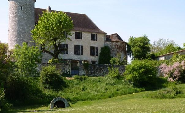 Castle holiday accommodation in the Dordogne with a private golf course, pool and sauna - FR-430-Sadillac - Image 1 - Saint Julien d'Eymet - rentals