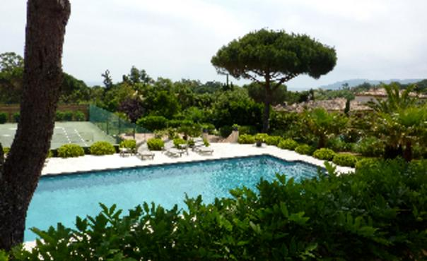 Vip Villa Pampelonne with sea view for 10 P  and a private tennis court - FR-189089-PAMPELONNE - Image 1 - Ramatuelle - rentals