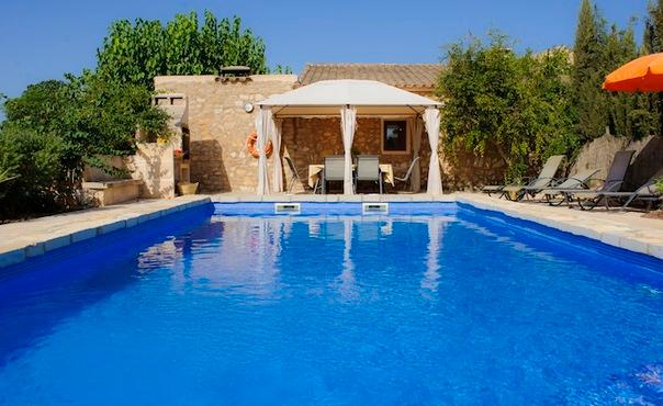 Beautiful and calm farmhouse  with swimming pool - ES-851-Cas Concos - Image 1 - Felanitx - rentals
