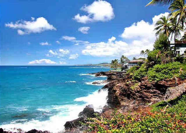 Poipu Makai C1 views of the Poipu Coastline - Colorful Pacific sunsets, crashing surf, scenic coastline, tastefully updated - Poipu - rentals