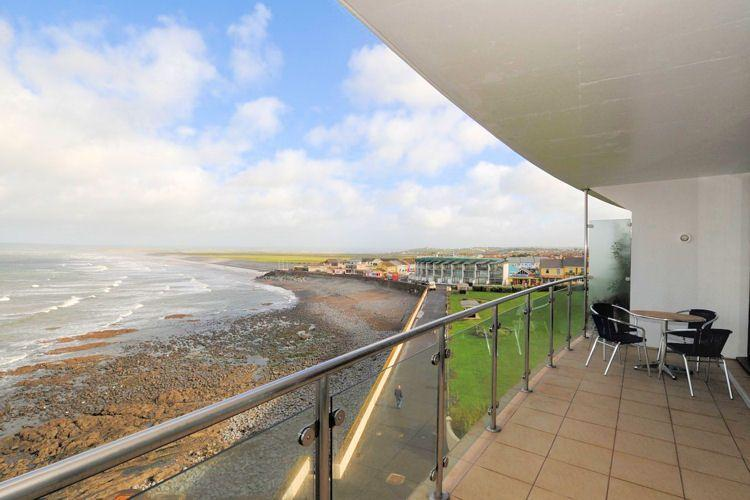 The balcony at Sea Haven Apartment - Sea Haven Apartment - Westward Ho - rentals