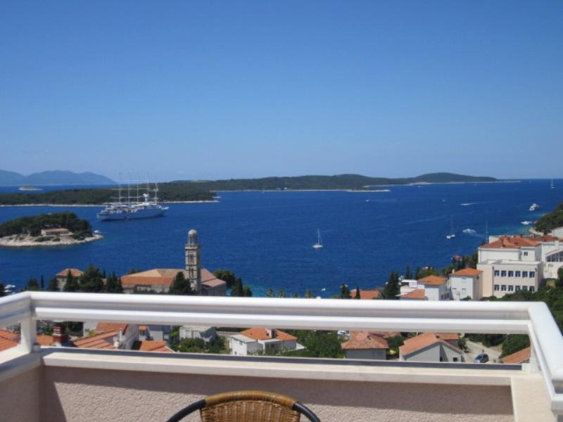 seaview  from the terrace - Apartmani Krešić Hvar,Croatia (AP4) - Hvar - rentals