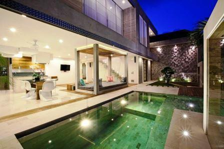 Front View  - Luxury SPA Villa in Bali - Kuta - rentals