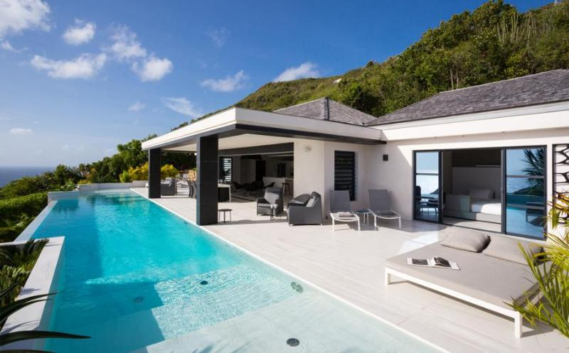 Rose Dog at Deve, St. Barth - Ocean View, Pool, Ultra Modern Decor - Image 1 - Saint Jean - rentals