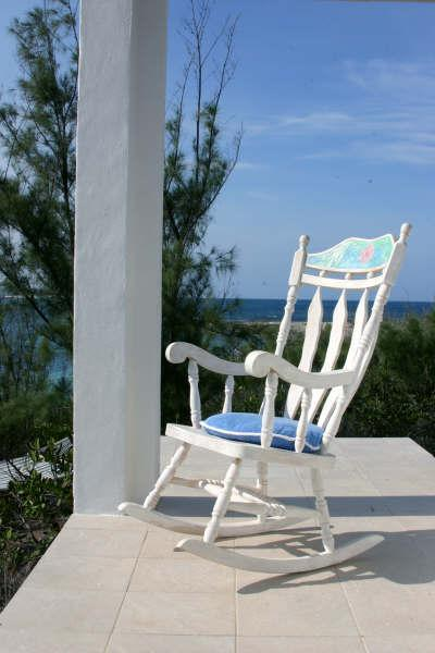 Front Porch overlooking Turtle Bay - The Boat House at Whale Point - Dunmore Town - rentals