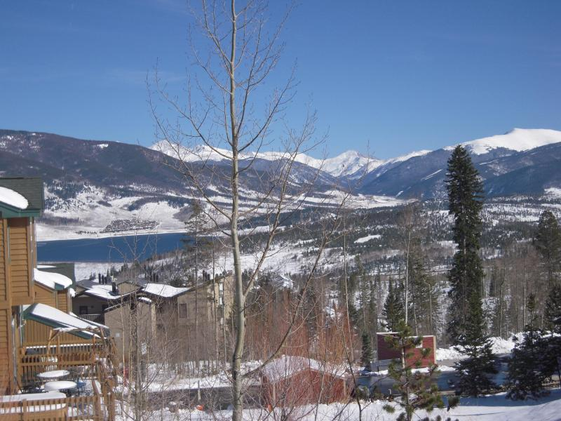 View of Lake Dillon and Continental Divide - Mountain Townhouse -Eighth Night Free! - Silverthorne - rentals