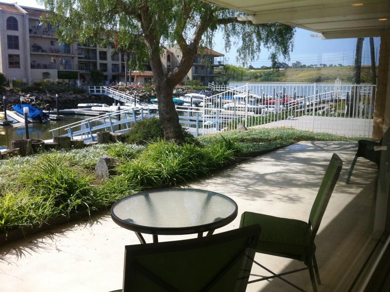 Great view from spacious patio - 2 Bed, 2 Bath Waterfront at Bristol Cove, Carlsbad - Carlsbad - rentals