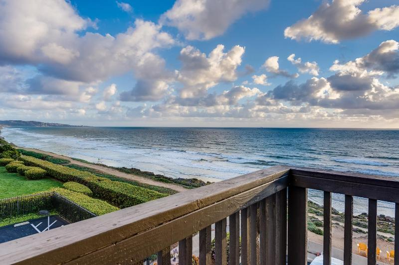 VIEW FROM THE CORNER BEDROOM  - $295 Specials!  Modern Oceanfront View Penthouse - Del Mar - rentals