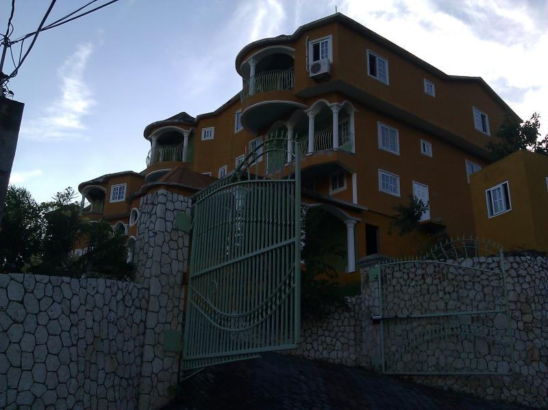 View from the gate - 2 Bedroom Luxury Apartment, (Casa Tianna Kingston) - Kingston - rentals