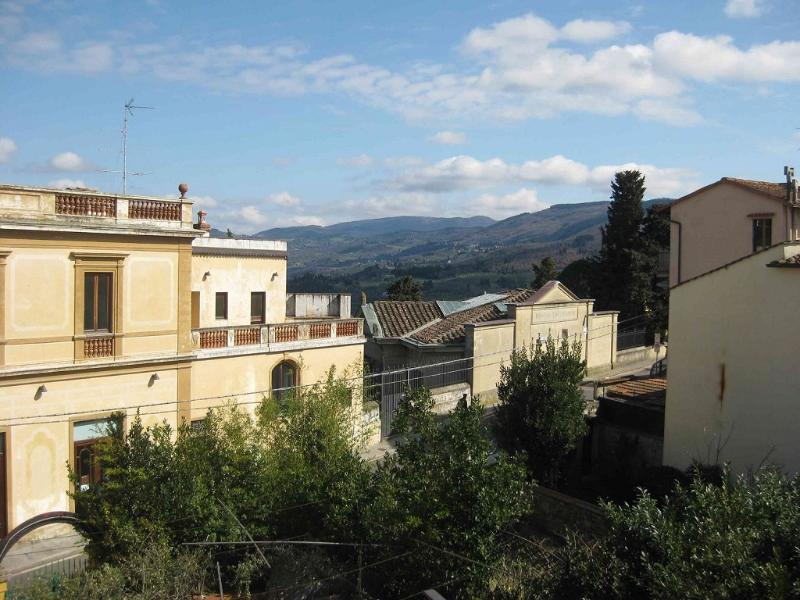 Panorama from balcony - Your home in the heart of Fiesole, Florence - Fiesole - rentals