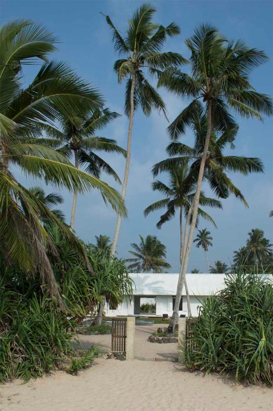 Olu Beach Villa as seen from the beach - Olu Beach Villa - Ambalangoda - rentals