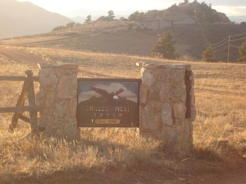 Entering the upper ranch - Eagles Nest Ranch - 1350 Ac in the Rocky Mountains - Fort Collins - rentals